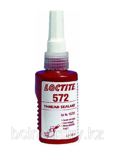 572 LOCTITE 50ml Уплотнитель труб и резьбовых соединений мед