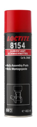 8154 Loctite 400 ml Сборочная смазка с молибденом, спрей