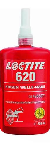 620 LOCTITE 250ml Высокотемпературный клей высокой прочн.