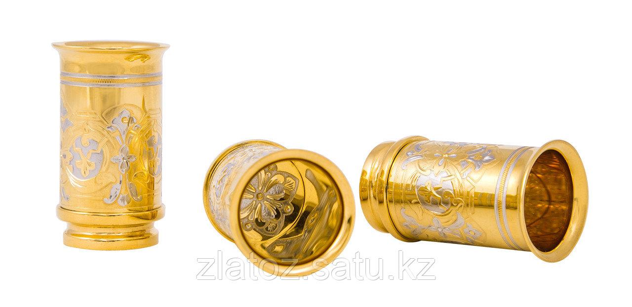 """Набор охотничий """"Сокол"""" (фляга большая, 3 стопки, нож) - Купить в Казахстане - фото 5"""
