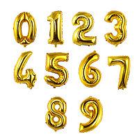 Фольгированные шарики-цифры 80см