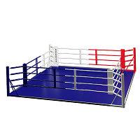 Ринг боксерский на раме 6м х 6м (боевая зона 5м х 5м)