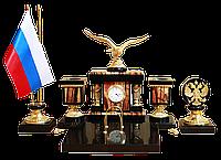 """Письменный набор """"Орел"""" из яшмы - Купить в Казахстане"""