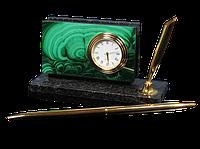 """Настольный прибор """"Часы визитница"""" - Купить в Казахстане"""