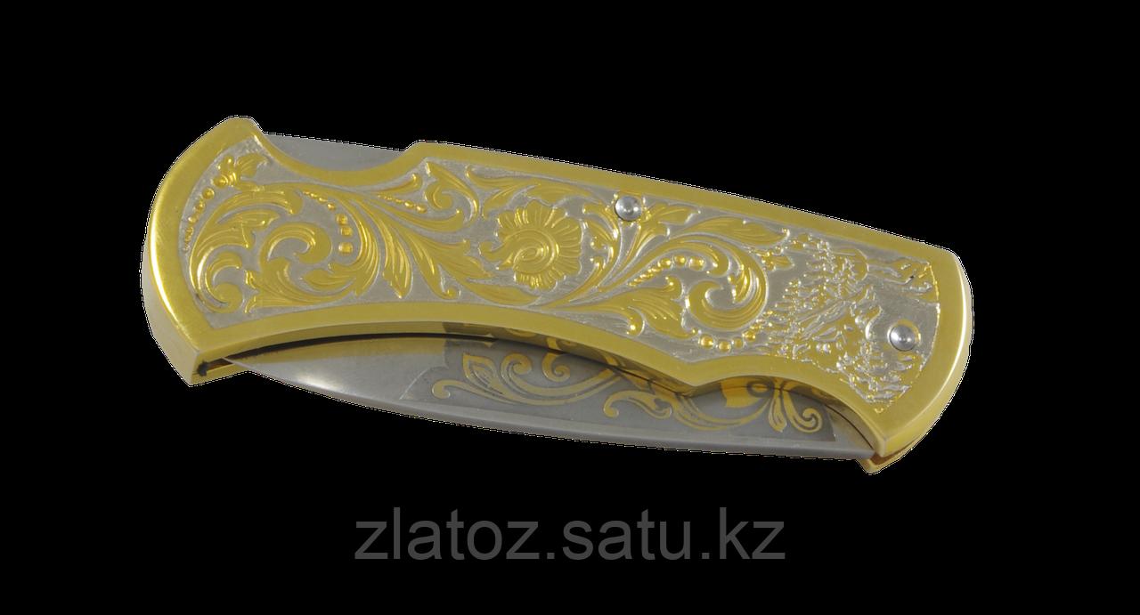 """Набор коньячный """"Эгоист"""" ( тарель, бокал, нож складной) - Купить в Казахстане - фото 2"""