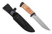 """Нож туристический """"Бекас"""" (сталь 95x18, береста) - Купить в Казахстане"""