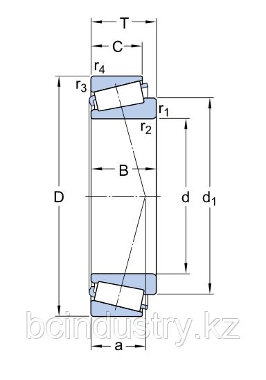 32208J2/Q   (2020   VKHB) подшипник SKF