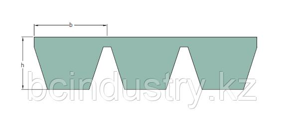 PHG D140  ремень SKF (вн. длина 3556- нар. длина 3640)  толщина ремня 32мм, глубина 20мм