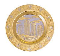 """Тарель """"Грозный сити"""" ( диаметр 140мм.) - Купить в Казахстане"""