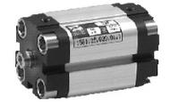 1581.25.0050.01.1 - ПНЕВМОЦИЛИНДР КОМПАКТНЫЙ UNITOP/ISO, D=25 ход 50 мм, внутр.резьба на штоке, магн