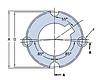 PHF TB2517X60MM коническая втулка SKF