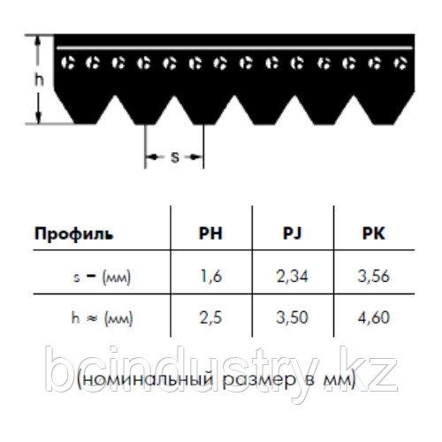 PJ 457 9 ремень Optibelt RB