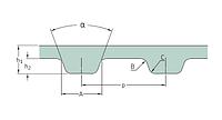 PHG 1700-H-100   ремень SKF