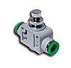 T310600 – Дроссель с обратным клапаном, Dт=6мм
