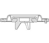 1126701A - Диафрагма (NBR) клапана E107IB50 / E207IB50