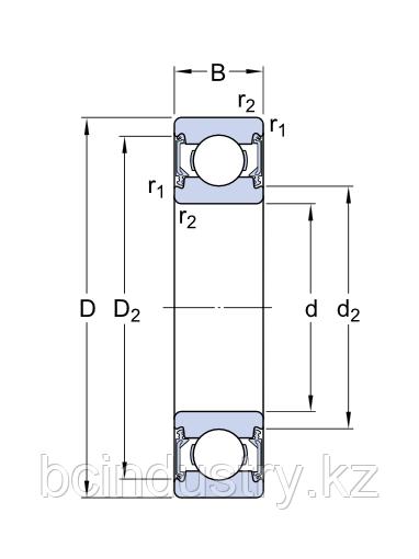6203 -RSH/C3   подшипник SKF