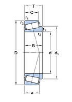 T7FC 055/QCL7C   подшипник SKF