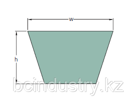 PHG AX25 (670) ремень SKF