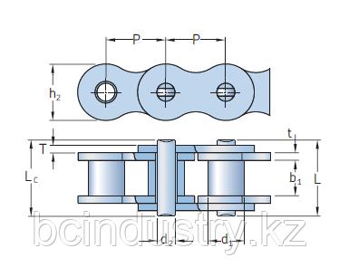 PHC 20B-1X5MTR   цепь   SKF