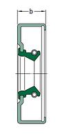 CR 55X75X12 CRS12 R   Манжетное уплотнение SKF