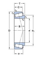 31316 J1/QCL7A   подшипник  SKF