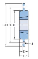 PHH BF25 Ступицы типа WH с конической втулкой под соединение болтами SKF