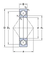 QJ 218 N2MA/С3  подшипник SKF
