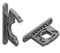 T172Y - СКОБА МОНТАЖНАЯ для крепления к стене, серии AIRPLUS, размер 2 пластик