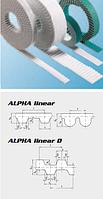 75 T10 offen 7350mm Optibelt ALHPA Linear