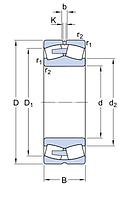 23180CA/C4W33 подшипник SKF
