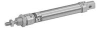 1280.25.0050.A.M - МИНИ ПНЕВМОЦИЛИНДР ISO, D=25 ход 50 мм, демф., магнит