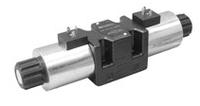 DS5-S1/12N-D00 - Гидрораспределитель, Элм.-Элм., 150л/мин, под катушки постоянного тока
