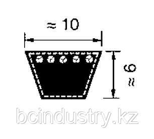 Z27 (10-670)   ремень Optibelt VB