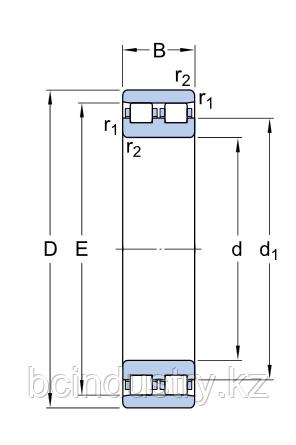 NN 3018 TN9/SP  подшипник SKF