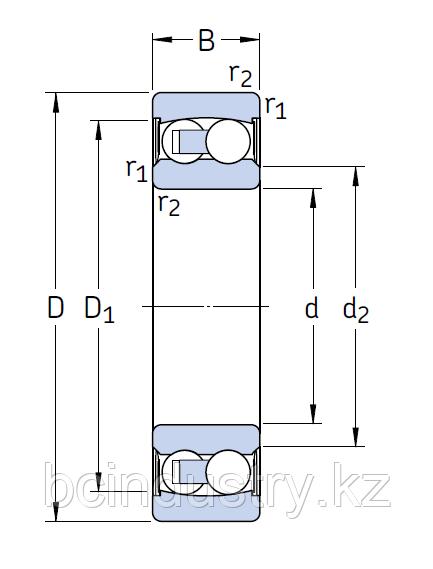 2206 E-2RS1TN9/C3   подшипник SKF