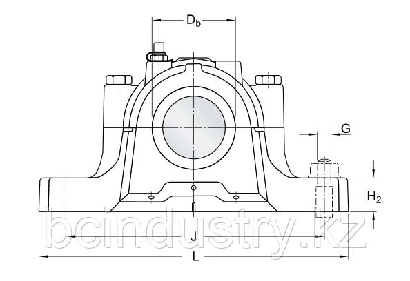 SNL 522-619  корпус SKF