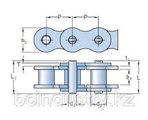 PHC 60-2X5MTR   цепь SKF