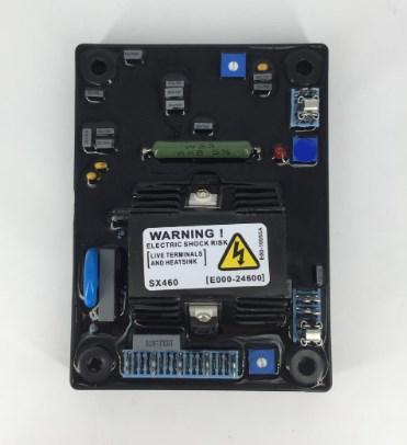 Генератор AVR схема 3 фазы AVR Sx460