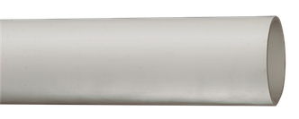 Труба гладкая жесткая ПВХ d16 ИЭК серая (111м),3м