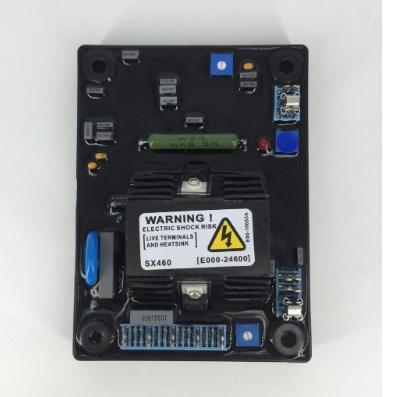 Генератор автоматический регулятор напряжения AVR SX460 мягкая резинка Красный конденсатор, фото 2