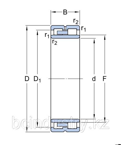 NNU 4924 BK/SPW33   подшипник  SKF