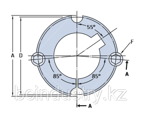 PHF TB2012X42MM   коническая втулка SKF