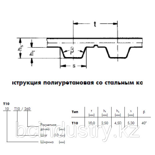T10 780 16  ремень Optibelt ALPHA POWER