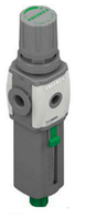 T172BEMBD - Фильтр-Регулятор с встроенным манометром, G3/8 , 0...12 бар,20мкм,2350 нл/мин,поток СЛЕВ