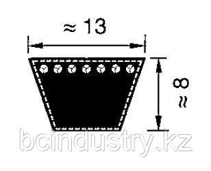 A27  ремень Optibelt VB  (716-686)