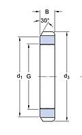 HM 48 T   гайка для монтажа  SKF