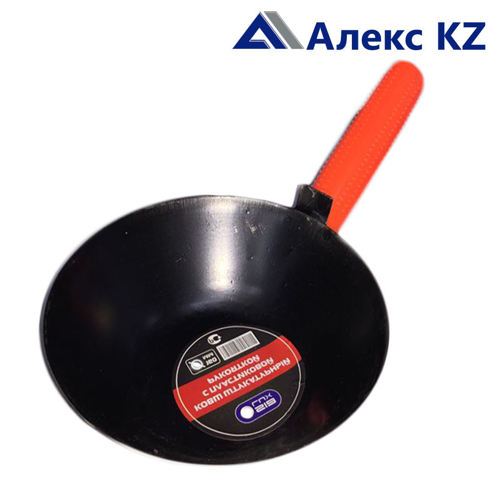 Мастерок Ковш штукатурный с пластиковой ручкой