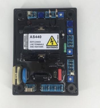 Генераторная установка AVR AS440 для генератора автоматический регулятор напряжения 220 В, фото 2