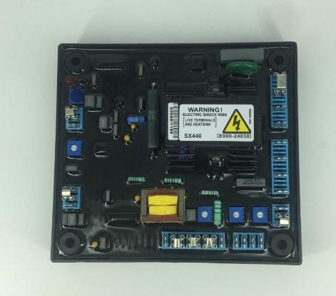 Автоматический регулятор напряжения SX440 генераторной установки запасных частей