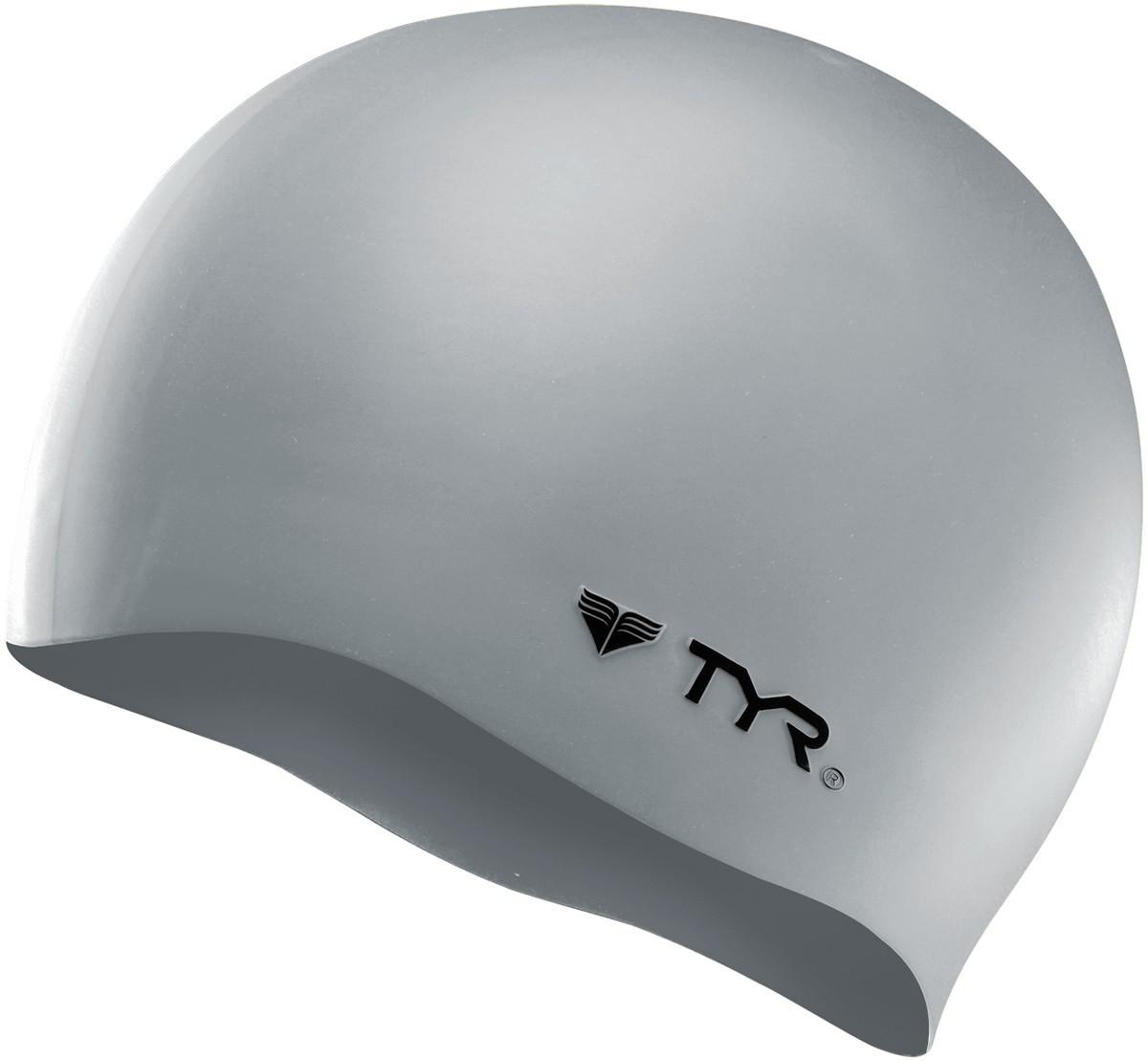 Шапочка для плавания TYR Wrinkle Free Silicone Cap 040